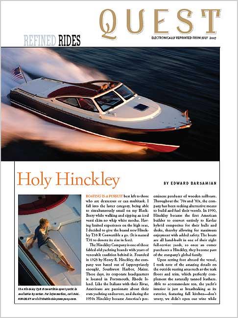 Quest Magazine – July 2007