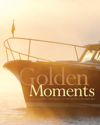 Golden Moments | Discovering the Fringe of Michigan's Inland Sea Aboard the New Hinckley T44 Mark II Produces Lasting Memories