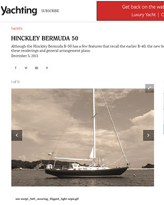 The New Hinckley Bermuda 50 on YachtingMagazine.com