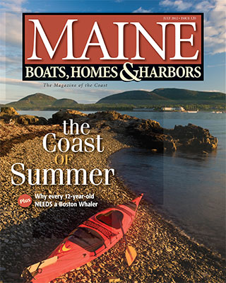Maine Boats, Homes, & Harbors Issue May and April