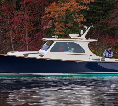 The Hinckley Picnic Boat Comes to the Big Apple