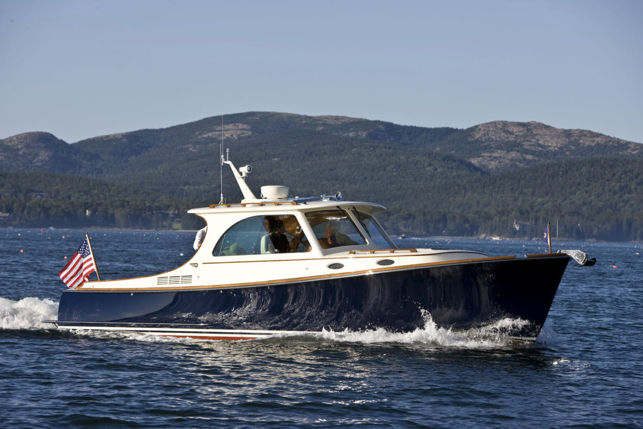 Boats yachts maine boats lobster boats picnic boats sailing - Hinckley Picnic Boat In Maine