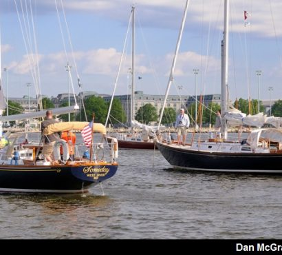 Hinckley Yachts Take Top Honors in the Elf Classic Yacht Race