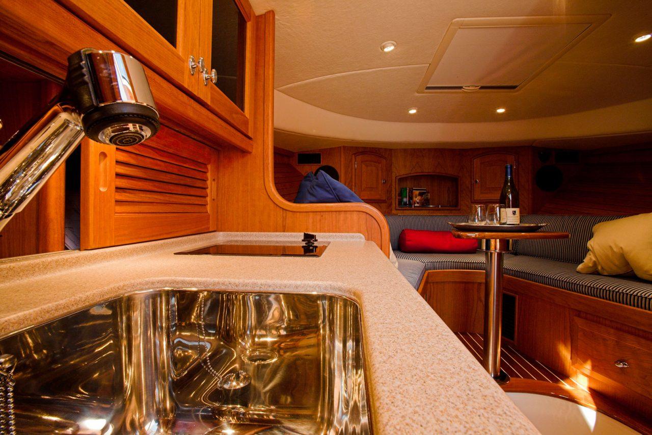 Hinckley Sailboats Interior