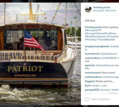 4 Reasons Why You Should Follow @hinckleyyachts on Instagram