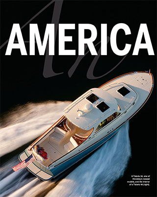 Hinckley Yachts: An American Icon Featured in Soundings Magazine October 2014 Issue