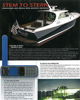 Southern Boating Magazine – May 2010