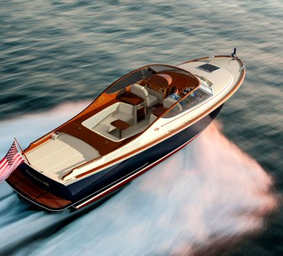 New From Hinckley This Spring: A New Addition To The Runabout Line, The Talaria 34R