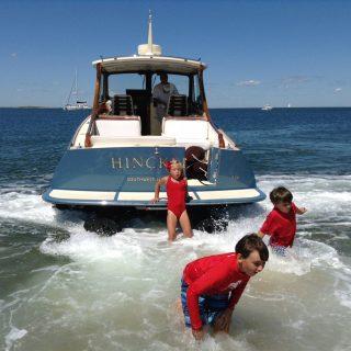 No Prop No Problem Hinckley Yachts