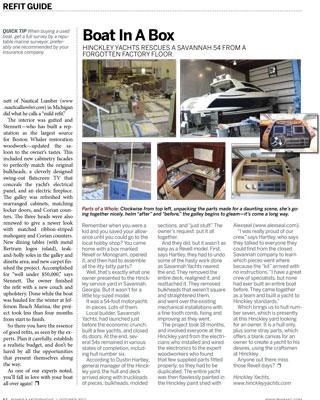 Power & Motoryacht Magazine Hinckley T34 October 2012