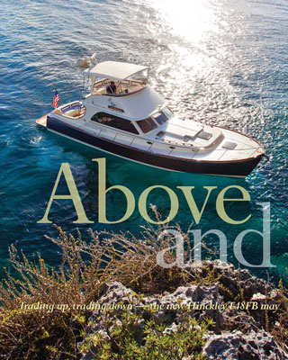Hinckley Featured on Cover of Yachting Magazine