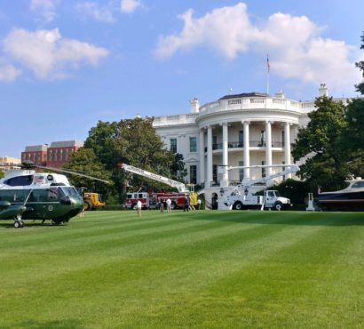 Hinckley Yachts Represents Maine In Made In America Display On White House Grounds.