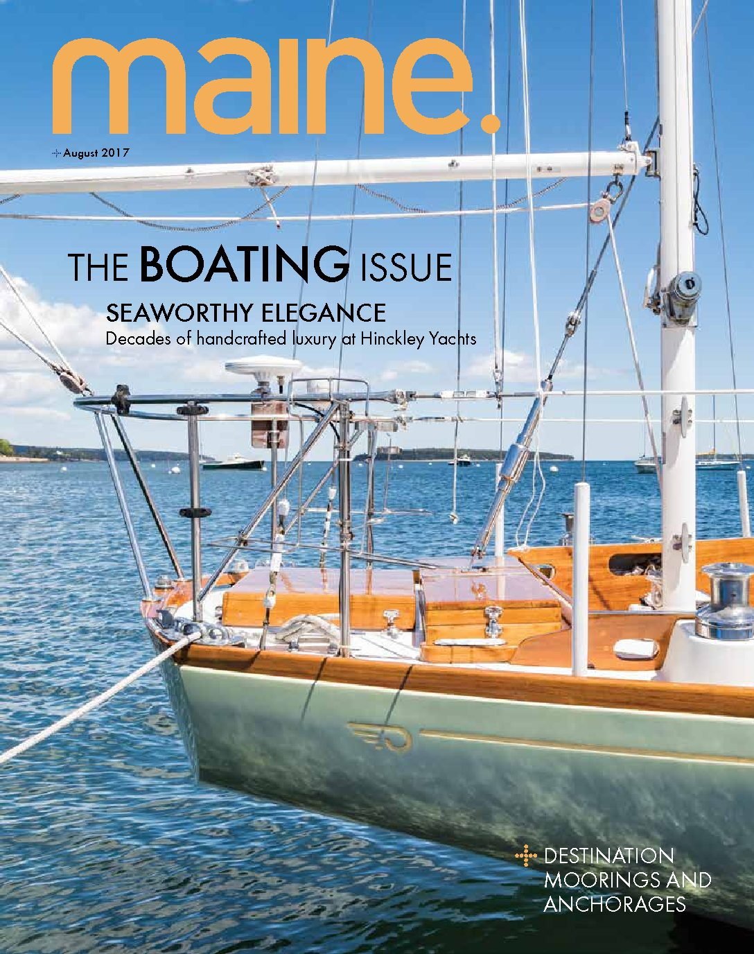 The Hinckley Company Featured in Maine Magazine