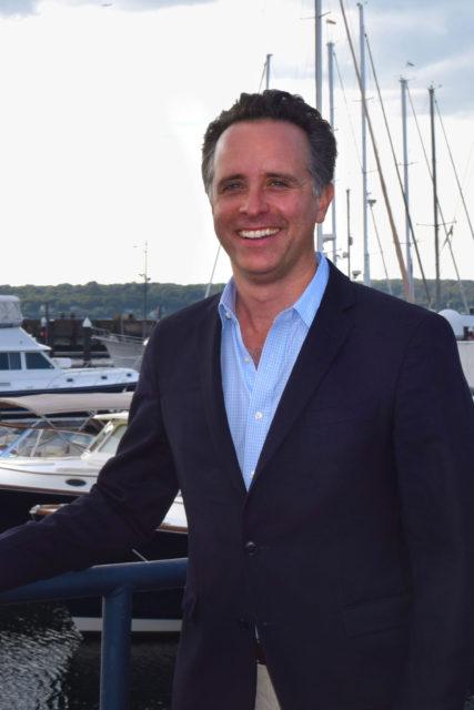 Hinckley Yachts CMO Pete Saladino