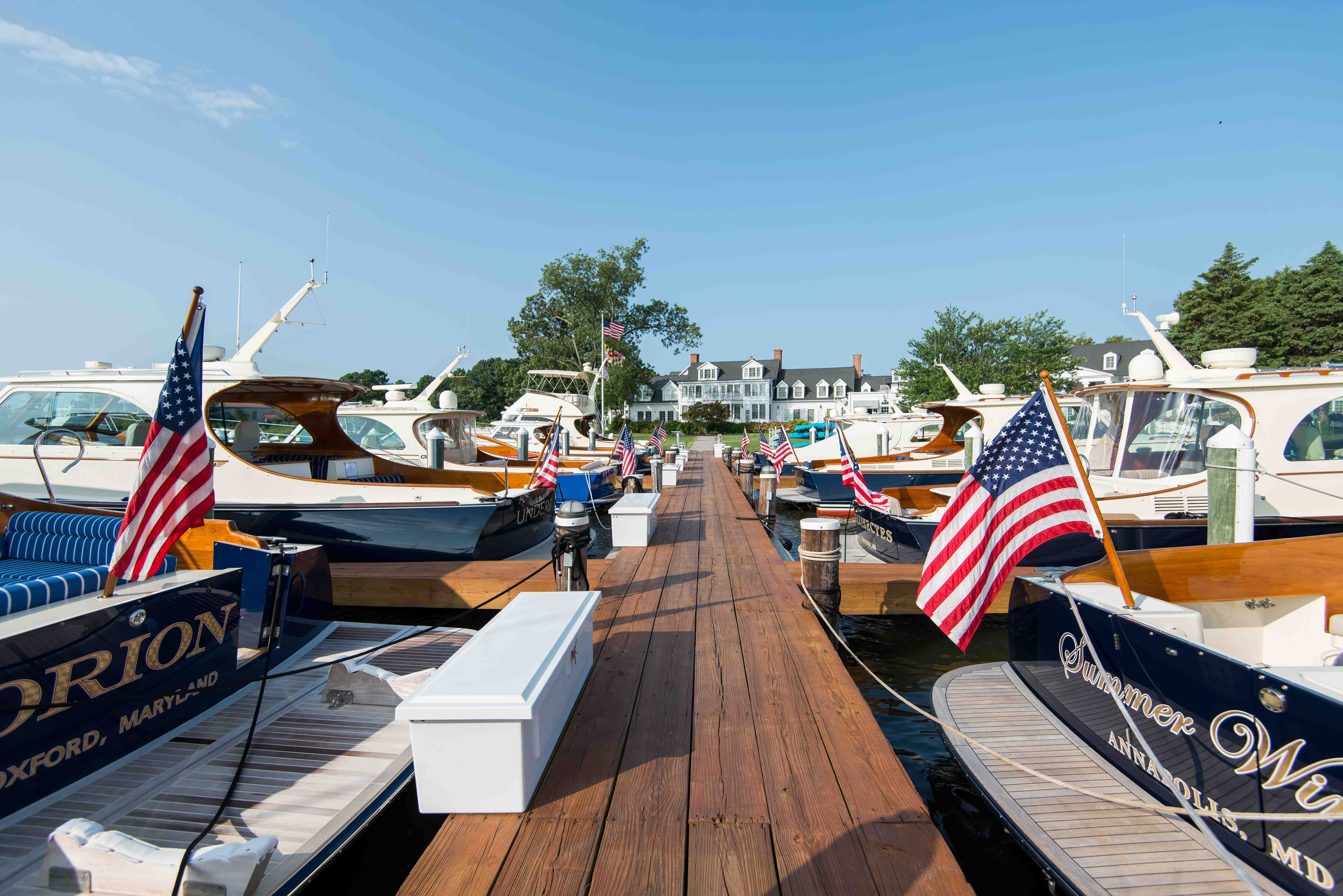 Hinckley Yachts United States Powerboat Show