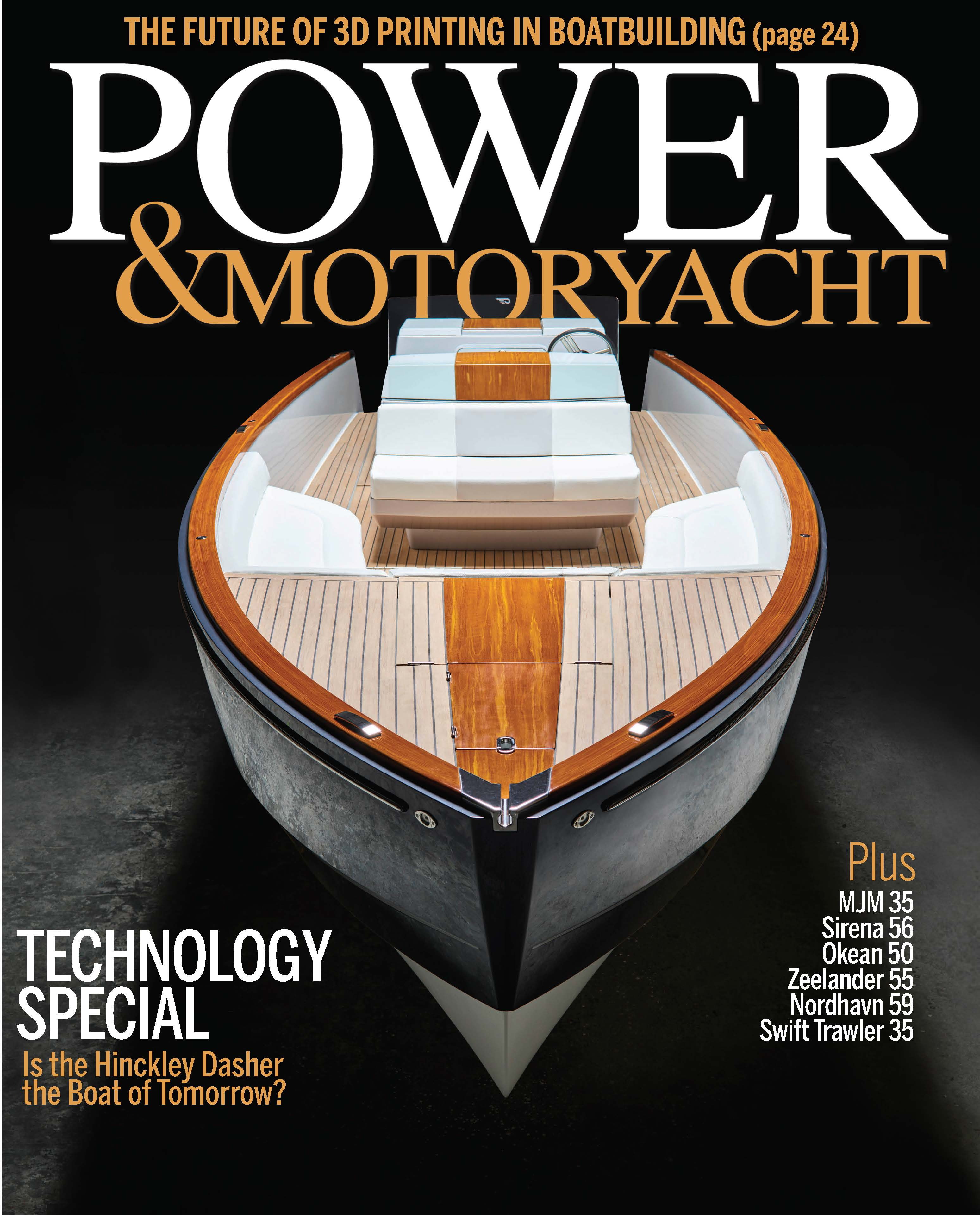 Dasher on Power & Motoryacht Cover
