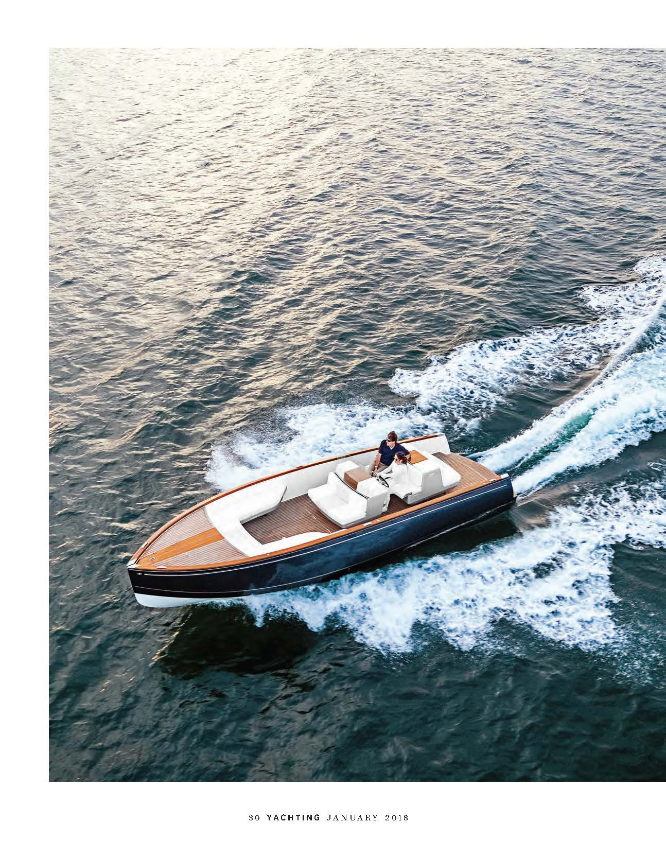 Dasher Featured in Yachting