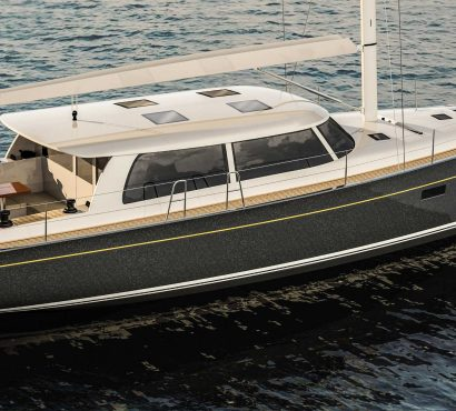 Hinckley Announces the Sou'wester 53 Carbon Epoxy Sailing Yacht