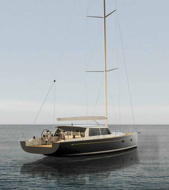 New Hinckley Sou'wester 53 carbon epoxy sailing yacht