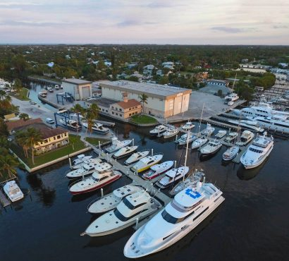 Hinckley Yacht Services breaks ground on 40,000 square foot climate-controlled storage facility in Stuart, Florida