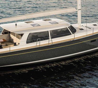 Hinckley Yachts and Brooklin Boat Yard Partner on Bill Tripp-designed Sou'wester 53'