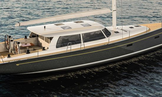 Hinckley Yachts and Brooklin Boat Yard Partner on Bill Tripp-designed Sou'wester 53'