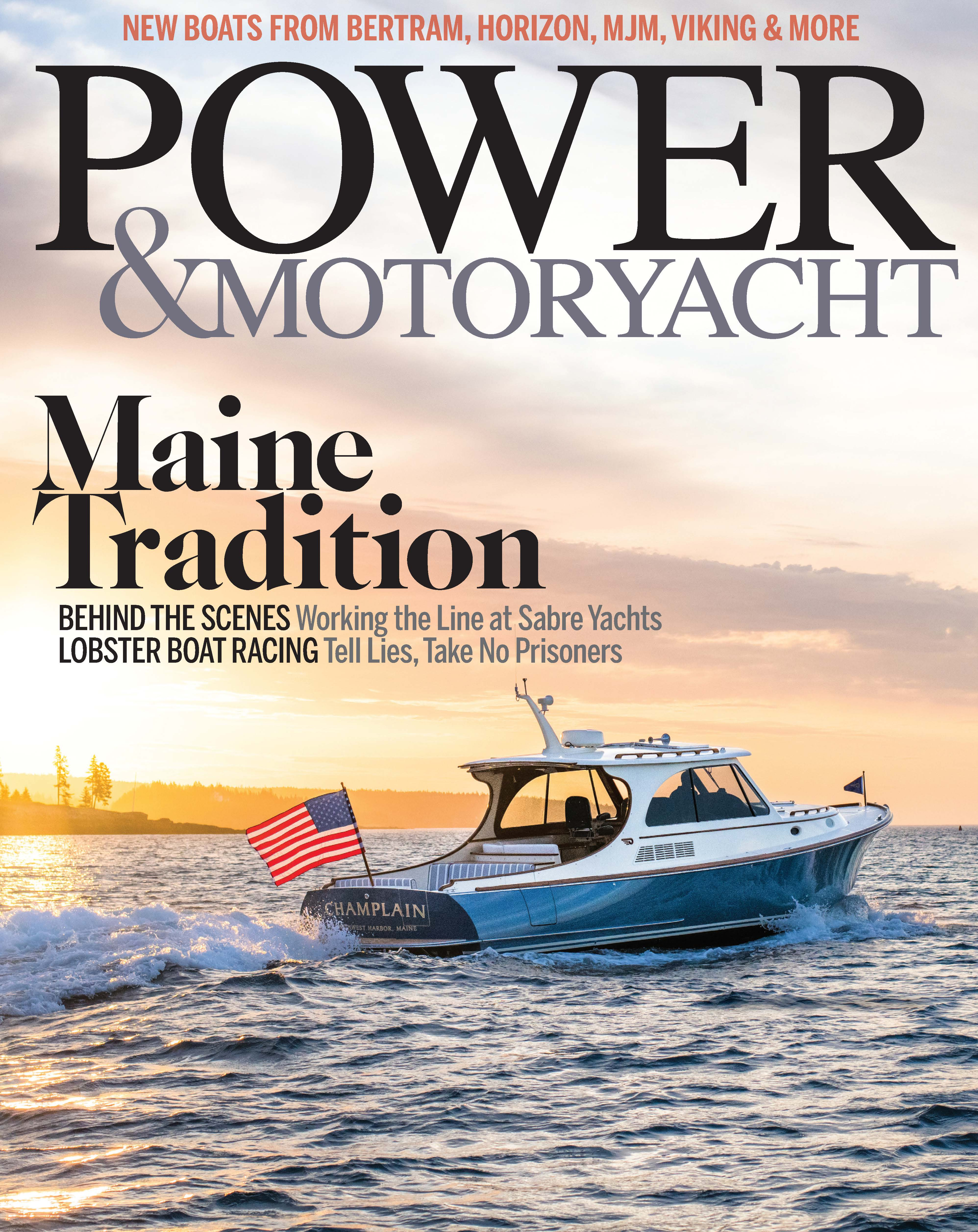 Picnic Boat 40 on Power & Motoryacht Cover