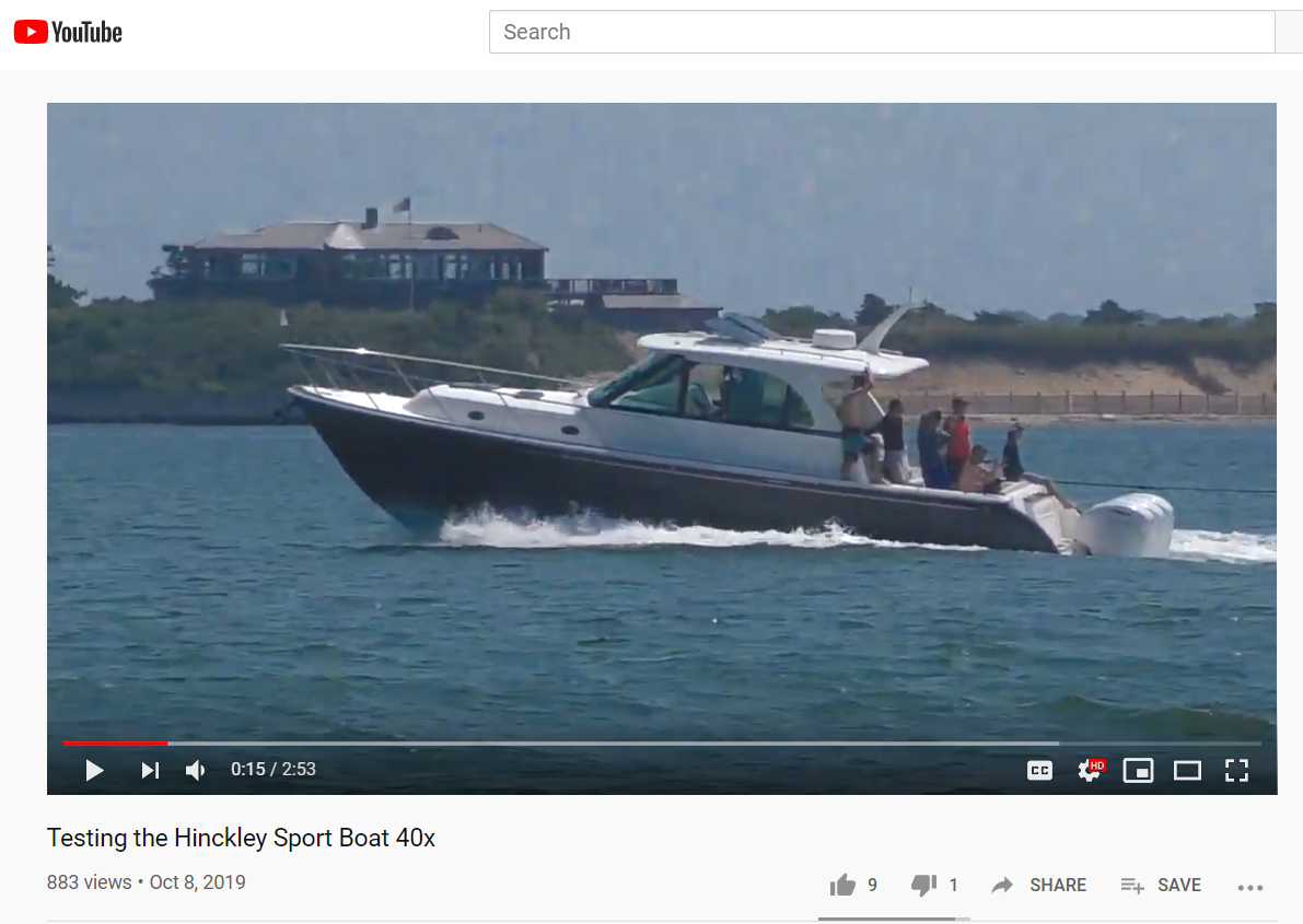 Power & Motoryacht review of Sport Boat 40x