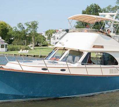 Two-Time Hinckley Owners Live Aboard Talaria 43 While Relocating During COVID-19